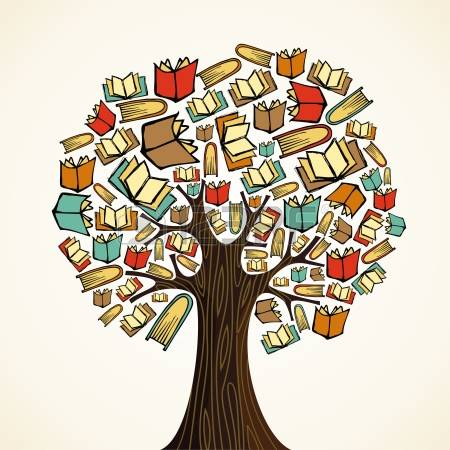 14777586 global education concept tree made books vector file layered for easy manipulation and custom colori